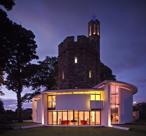 MEDIEVAL WATER TOWER CONVERTED MEDIEVAL WATER TOWER CONVERTED Lymm Water Tower Ellis William Architects 14 600x560  home Lymm Water Tower Ellis William Architects 14 600x560