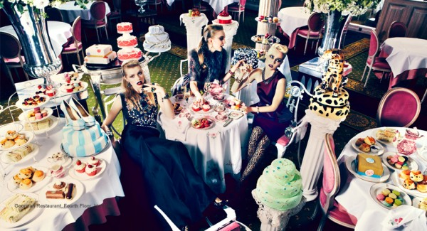 Harrods marries Fashion and Food Harrods marries Fashion and Food harrods fashion food digital campaign 600x3251