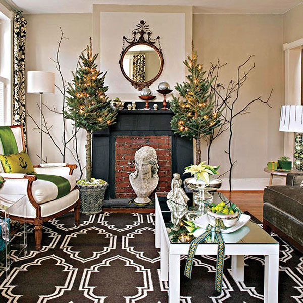 Christmas-Living-Room-Decor&Style Best Christmas Decoration Tips Best Christmas Decoration Tips Christmas Living Room DecorStyle