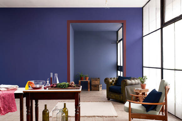 Interior Design trends for 2013 by Achica Living Interior Design trends for 2013 by Achica Living Indigo living room