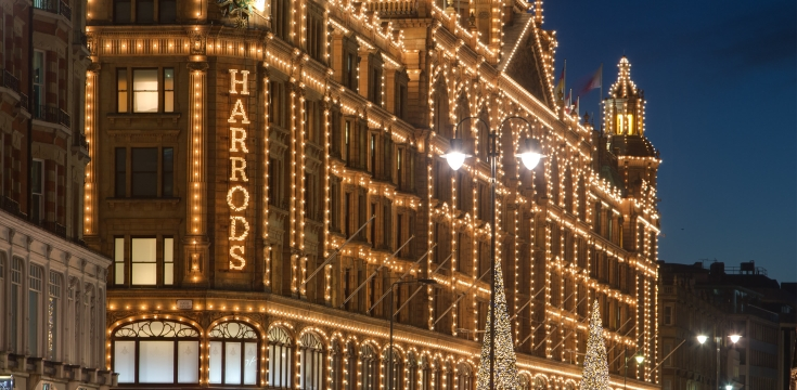 Harrods Christmas Decor Bright Christmas at Harrods Bright Christmas at Harrods Harrods Christmas Decor 1  home Harrods Christmas Decor 1