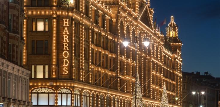 Harrods Christmas Decor Bright Christmas at Harrods Bright Christmas at Harrods Harrods Christmas Decor 1