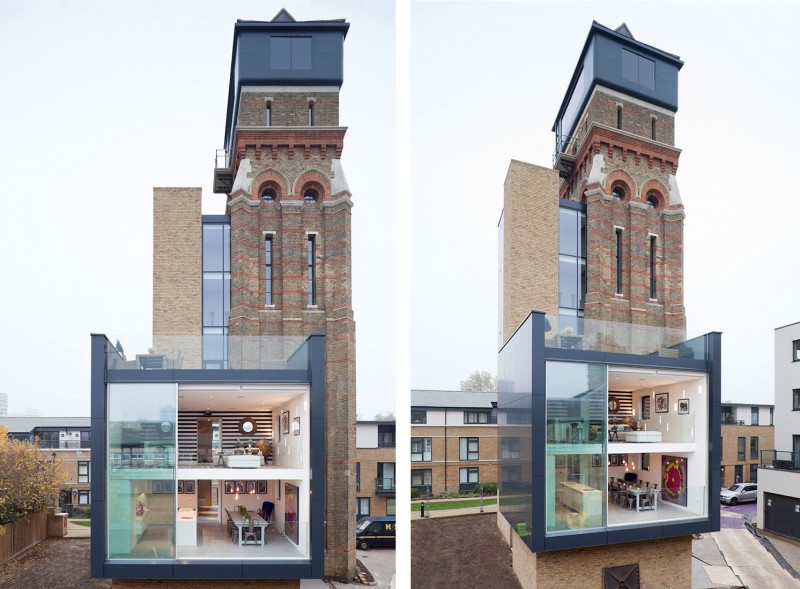 Water Tower House in London Water Tower House in London The Water Tower Decorandstyle1