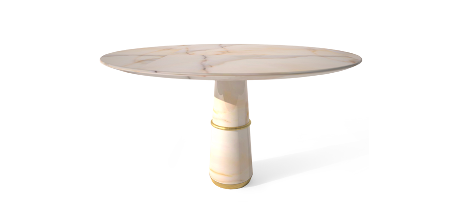 Beautiful marble dining table Beautiful marble dining table AGRA marble dining table by BRABBU  home AGRA marble dining table by BRABBU