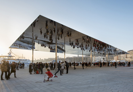 architecture, foster and partners, best designers uk, public areas architecture, Vieux Port in Marseille by Foster + Partners Vieux Port in Marseille by Foster + Partners dezeen Vieux Port pavilion by Foster Partners 1  home dezeen Vieux Port pavilion by Foster Partners 1