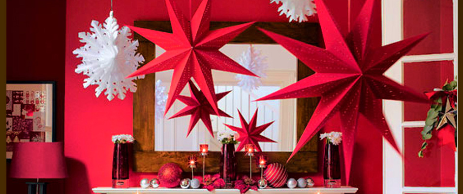 Festive Guide To Guest - Proofing Your Home Festive Guide To Guest – Proofing Your Home Table avatar interior featured red and white christmas decoration with hanging snow and star ideas