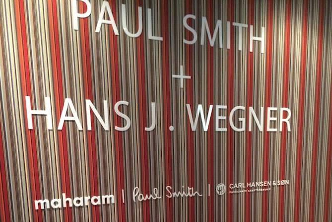 Paul Smith & Hans J Wegner at iSaloni 2014 Paul Smith & Hans J Wegner at iSaloni 2014 10150667 10152724817762542 4942853681443064787 n1