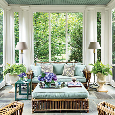 elegant-colonial-porch-l Porches and Patios We'd Love to Relax On Porches and Patios We'd Love to Relax On elegant colonial porch l