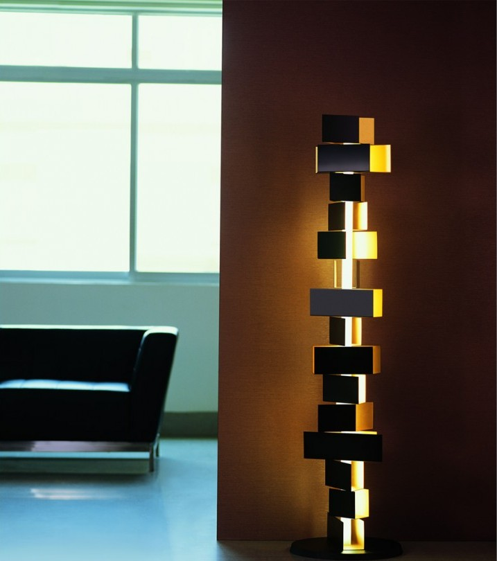 floor lamps 10 creative modern floor lamps for decorating your house gemma stacked block tall contemporary floor lamps for contemporary home 890x8901