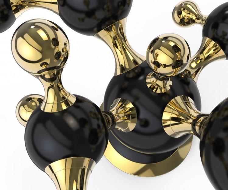 Luxury Trends for The Christmas Season Luxury Trends for The Christmas Season Luxury Trends for The Christmas Season delightfull Atomic Sputnik Multi Light Sculptural Sphere Sideboard Lamp 031 e1448036528604