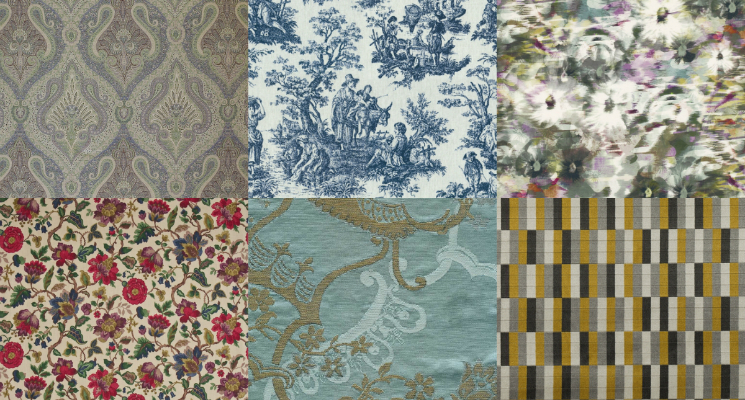 FEAT Top 17 classic fabrics for a living room design