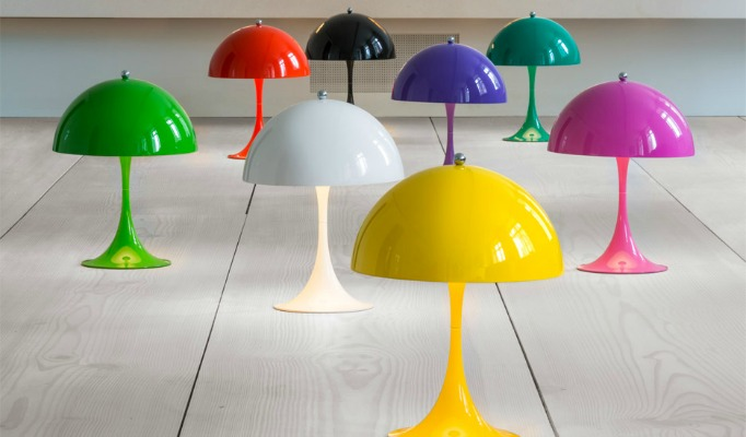 modern design lamps modern design lamps Louis Poulsen Colourful 1971 Panthella Lamp – Modern Design Lamps feature image lamps