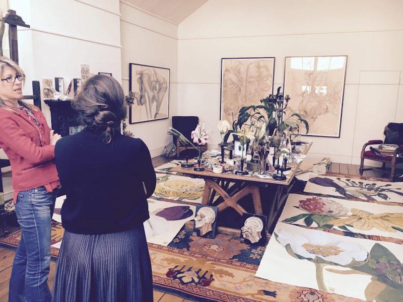 sarah-graham-capa Sarah Graham Sarah Graham Art Studio in Chelsea Sarah Graham Capa