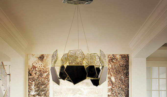 HYPNOTIC chandelier lighting | Luxury chandelier by Koket