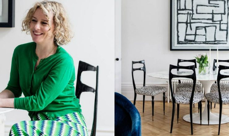 Inside Emma Oldham's Victorian and Modern London Home feat 8 740x441