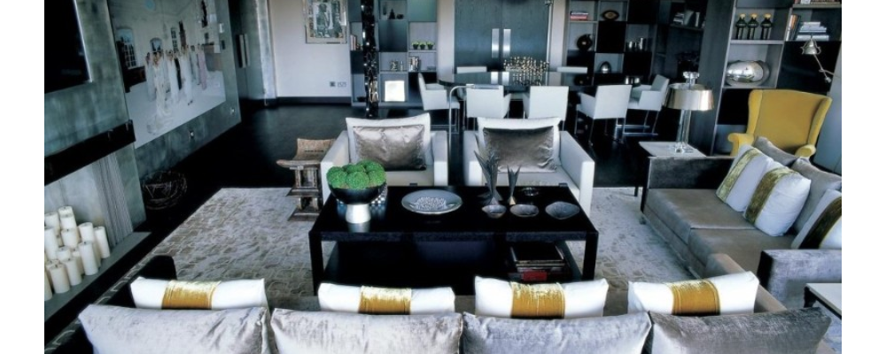 kelly hoppen Incredible Dining Rooms Designed by Kelly Hoppen capaa