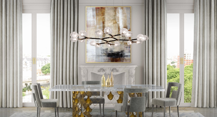 chandeliers 10 Dining Room Chandeliers You'll Want In Your Decor 10 Dining Room Chandeliers You   ll Want In Your Decor 4 1 740x400