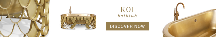 neutral palettes Neutral Palettes: The Decor Trend Your Bathroom Needs Koi Bathtub Maison Valentina