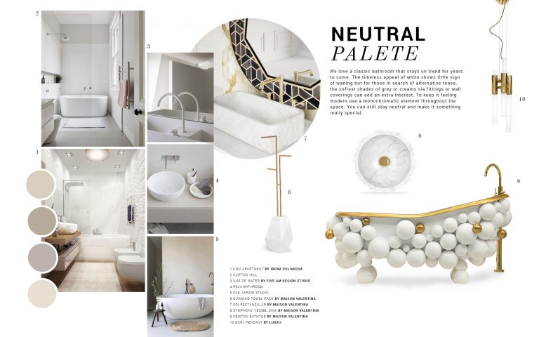 neutral palettes Neutral Palettes: The Decor Trend Your Bathroom Needs Neutral Palettes The Decor Trend Your Bathroom Needs 2