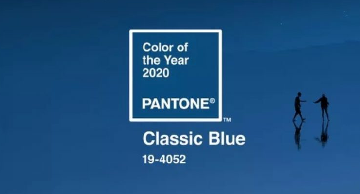pantone colour of the year Pantone Colour of the Year : Classic Blue Pantone Colour of the Year Classic Blue 4 740x400