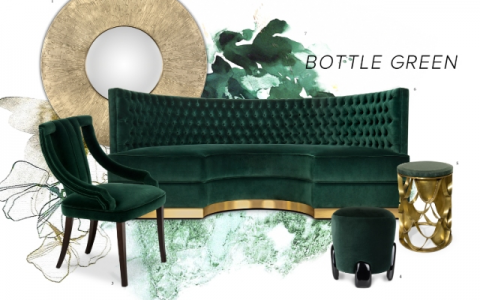 bottle green Interior Design Trends: Bottle Green Allows Nature Into Your Space Interior Design Trends Bottle Green Allows Nature Into Your Space 5 480x300