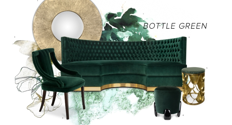 bottle green Interior Design Trends: Bottle Green Allows Nature Into Your Space Interior Design Trends Bottle Green Allows Nature Into Your Space 5 740x400 newsletter Newsletter Interior Design Trends Bottle Green Allows Nature Into Your Space 5 740x400