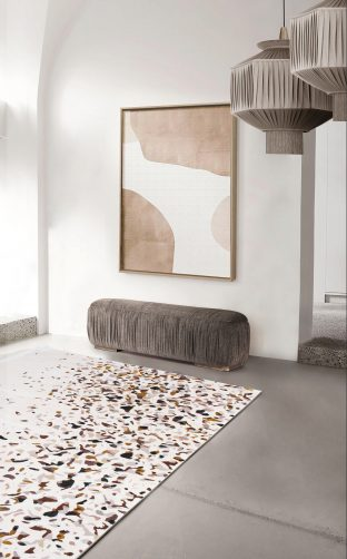 Rug´s Design rug´s design Top 5 Rug´s Design setting trends this year terrazzo rug from rug society 312x502