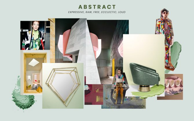 Mood Board mood boards Mood Boards to inspire your design work moodboard trends 2019 abstract design 670x419
